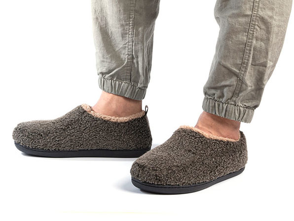 Men's Nomad Slippers with Memory Foam (Mocha)