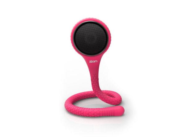 GekkoWave Memo-Flex Speaker (Pink)