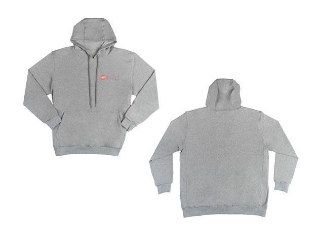 These heated hoodies are dual purposed- keeping you warm and allowing you to charge your phone anywhere you are!