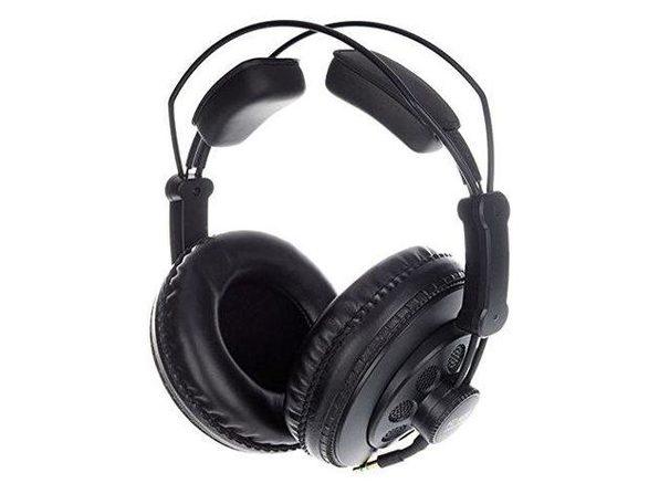 Superlux HD668B Dynamic Semi-Open Professional Recording Headphones Black