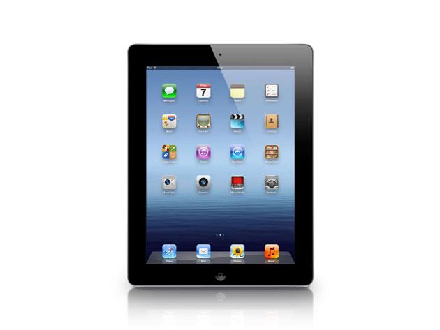 """Apple iPad 3 9.7"""" 64GB WiFi Black (Certified Refurbished)"""