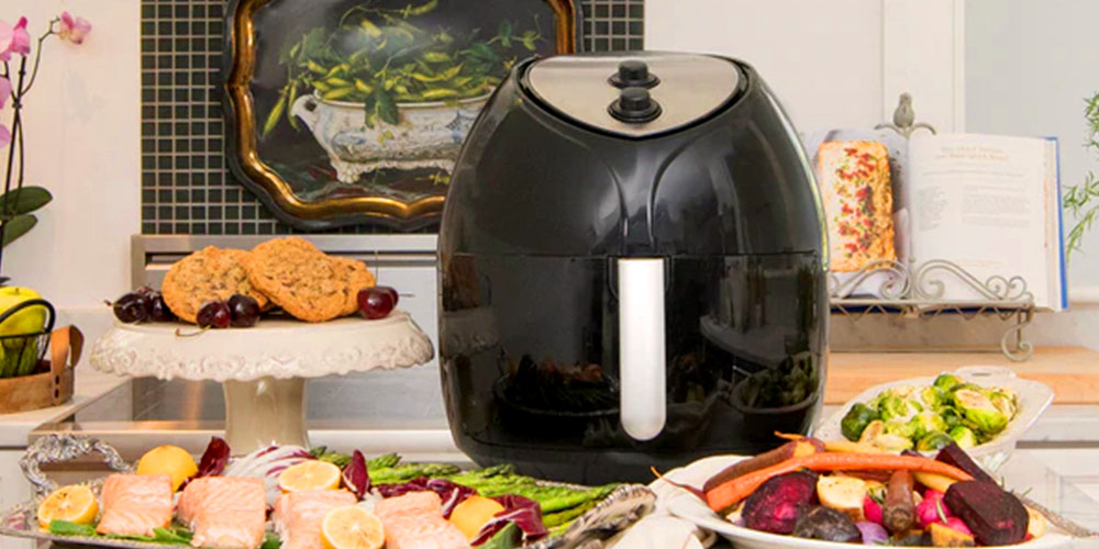 Paula Deen 9.5QT Family-Sized Air Fryer, on sale for $139.99 (44% off)