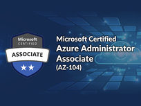Microsoft Certified Azure Administrator Associate (AZ-104) - Product Image