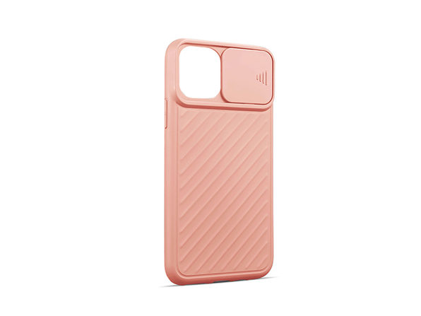 iPhone 12 mini Case with Camera Cover Pink - Product Image