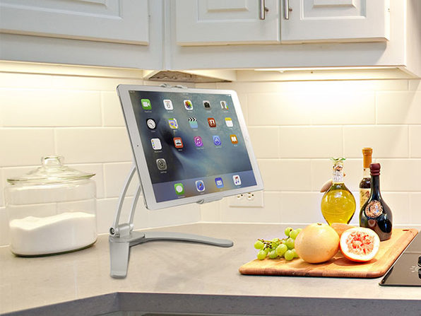 Luxitude Tablet & Phone Holder Stand (Permanent/Temporary Mounting)