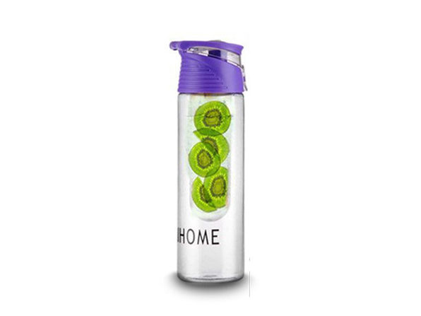 Fruit Infusing Water Bottle- Purple - Product Image