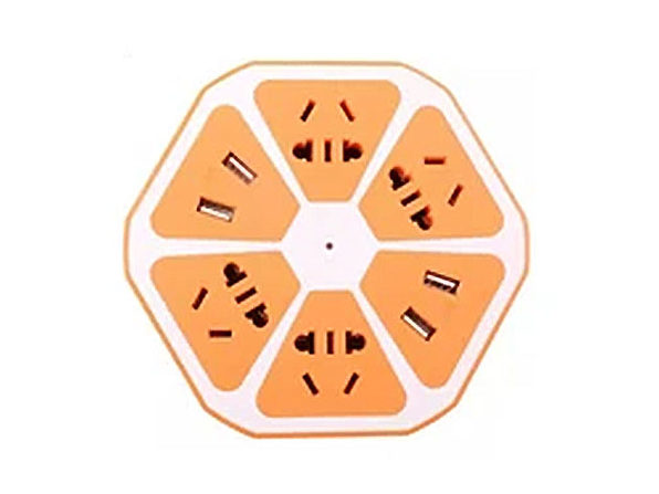 Multi-Port Fruit Charging Station (Orange)