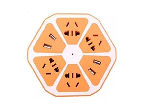Multi-Port Fruit Charging Station (Orange)