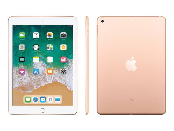 "Apple iPad 6th Gen 9.7"" 32GB Cellular Space Gray (Grade B)"