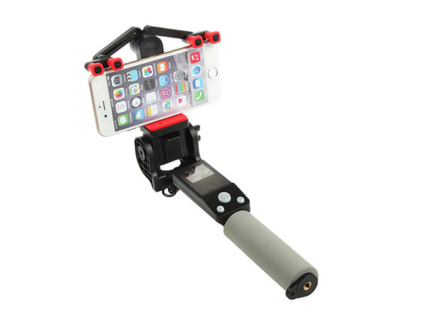 360 Deg. Panoramic Robotic  Selfie Stick - Black - Product Image