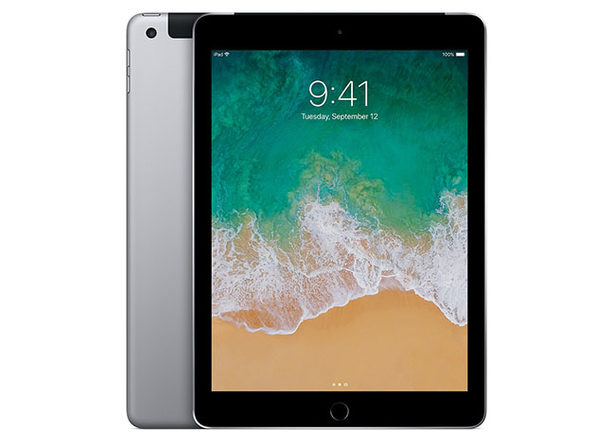 "Apple iPad 9.7"" 5th Gen 32GB - Space Gray (Refurbished: Wi-Fi + Cellular)"