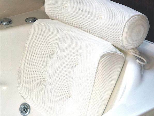 3D Mesh Neck & Shoulder Bath Pillow