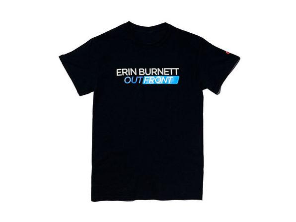 Erin Burnett OutFront Tee Black