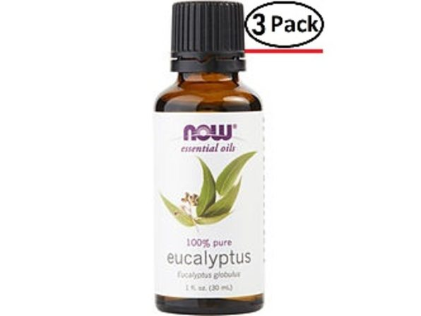 ESSENTIAL OILS NOW by NOW Essential Oils EUCALYPTUS OIL 1 OZ for UNISEX ---(Package Of 3) - Product Image