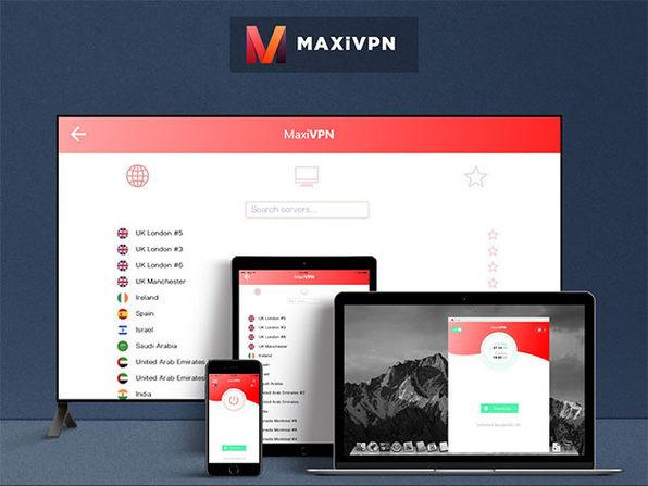 MaxiVPN Premium Plan: 2-Yr Subscription