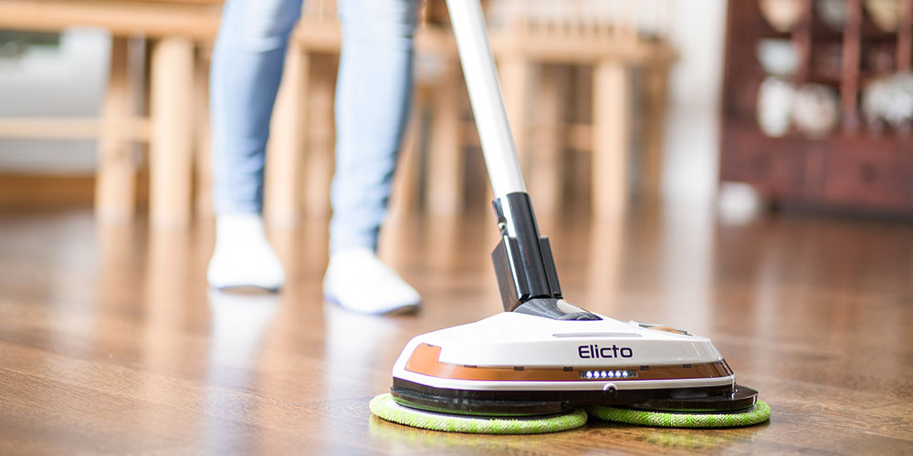 Elicto ES-530 Electronic Cordless Spin Mop & Polisher, now on sale for $119.99 with promo code ELICTO20P
