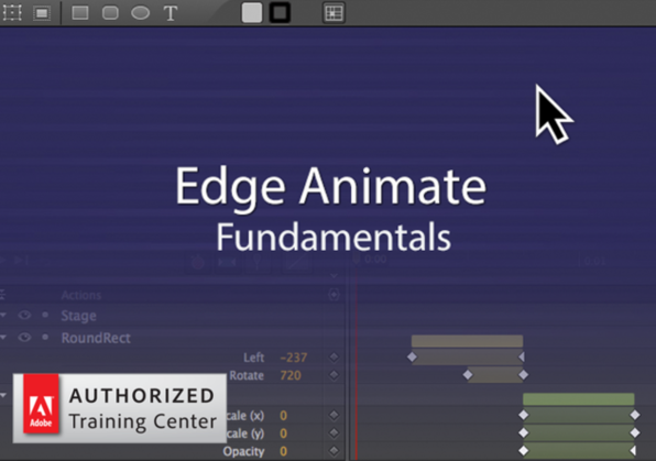Adobe Edge Animate CC Fundamentals - Product Image