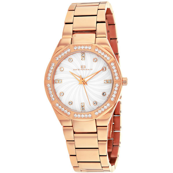 Oceanaut Women's Athena White mother of pearl Dial Watch - OC0252
