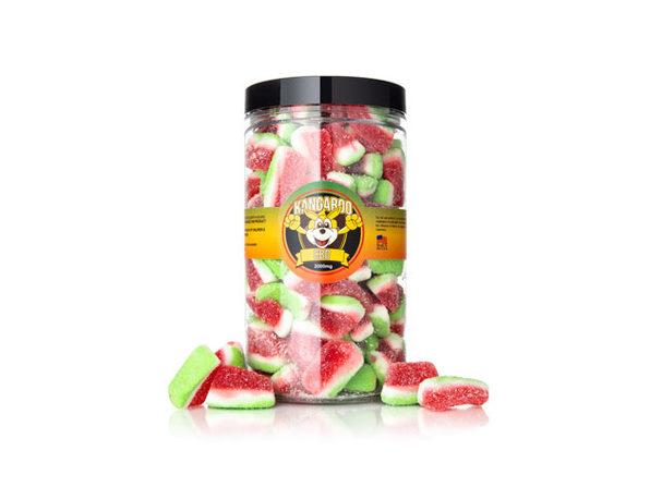 High Potency Organic CBD Watermelon Slices-2000mg - Product Image