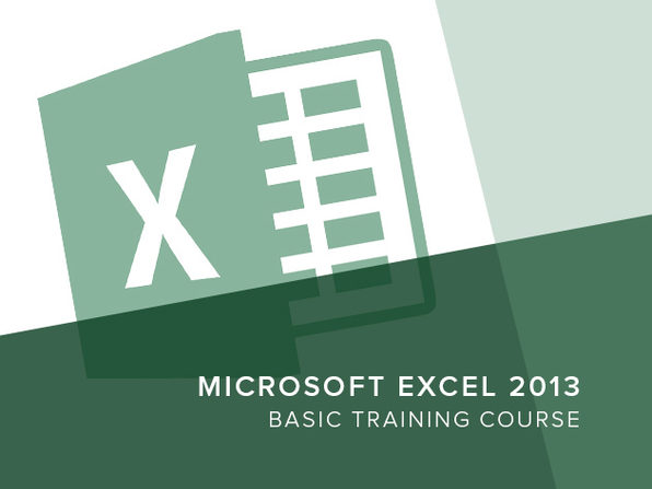 Excel 2013 Basic Training Course - Product Image