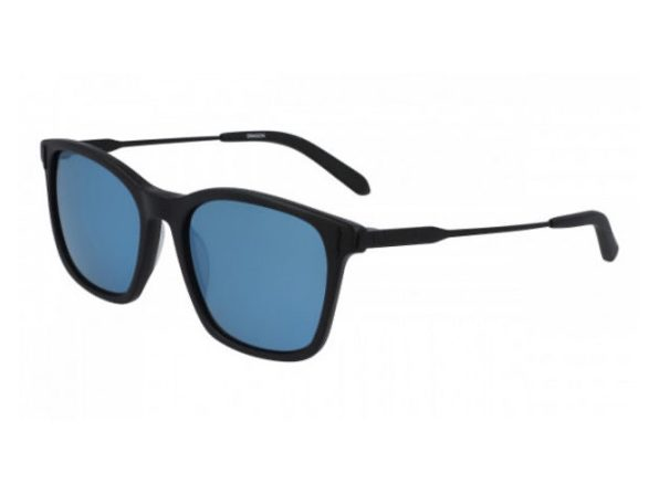 Dragon Alliance 40368 Matte Black-Blue Ionized Jake Sunglasses, Black - Black