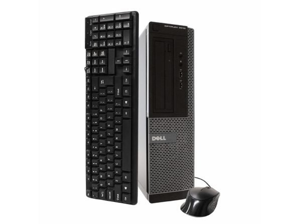 Dell OptiPlex 3010 Desktop PC, 3.2 GHz Intel i5 Quad Core Gen 3, 8GB DDR3 RAM, 500GB SATA HD, Windows 10 Home 64 Bit (Refurbished Grade B)