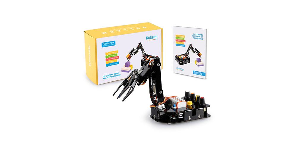 A robotic arm kit