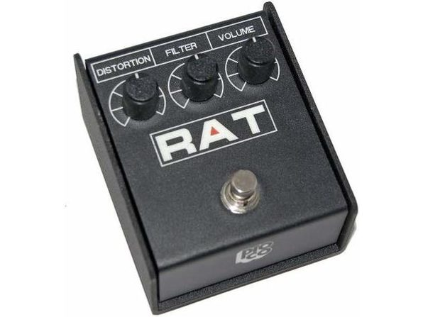 ProCo RAT2 Distortion Pedal Rock Rhythm Tones and Soaring Leads Boost for Solos (Used, Damaged Retail Box) - Product Image