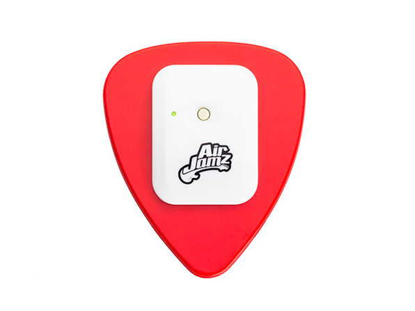 AirJamz Bluetooth Air Pick & Music Toy (Red)