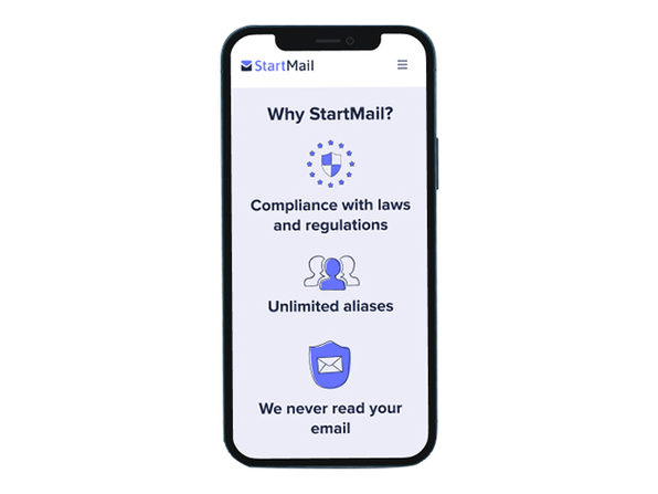 StartMail Private Email Service: 6-Month Subscription