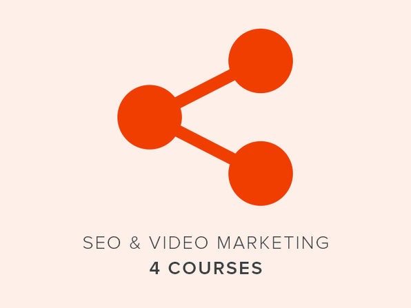 4 Courses: SEO & Video Marketing - Product Image