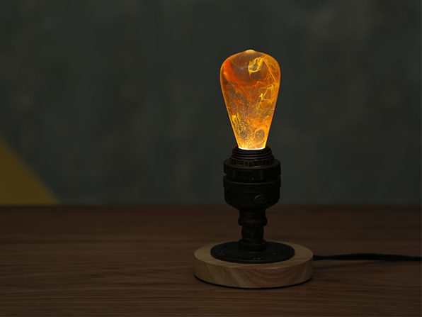 E.P. Eco-Friendly LED Light Bulb + Metal Base (Nebula)