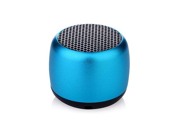 Little Wonder Solo Stereo Multi Connect Bluetooth Speaker (Metallic Blue)