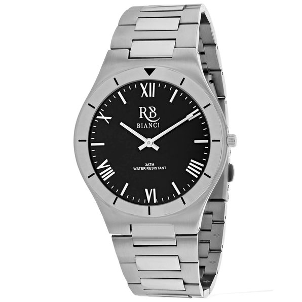 Roberto Bianci Men's Eterno Black Dial Watch - RB0312 - Product Image