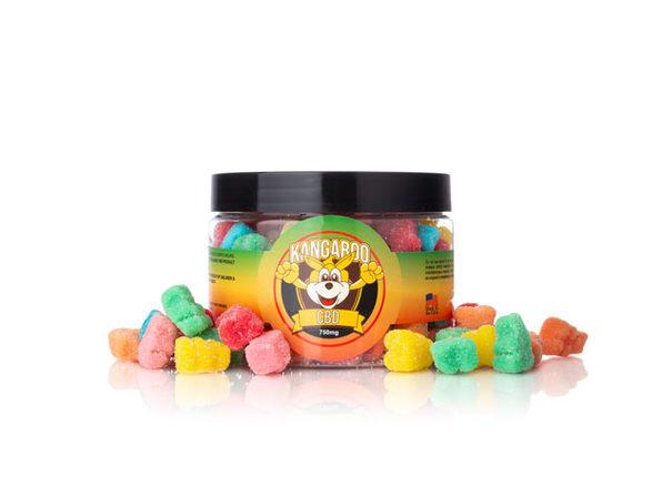 High Potency CBD Sour Bear Gummies (750 Mg)