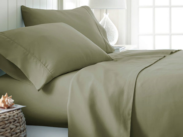 4 piece Sheet Sets- Sage - Product Image