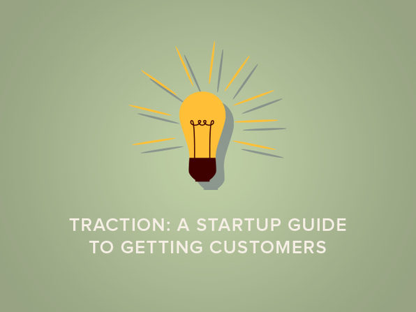 Traction: A Startup Guide to Getting Customers - Product Image