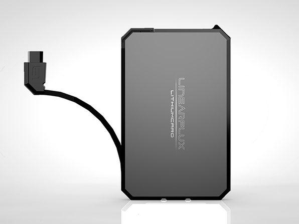 LithiumCard Wallet Battery (Black/Micro-USB)