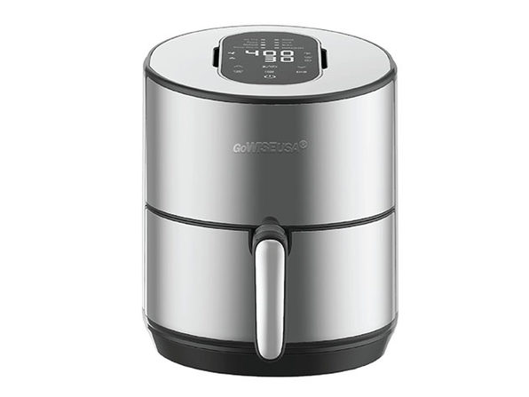 GoWISE USA® 8-in-1 Programmable 4.6QT Stainless Electric Air Fryer