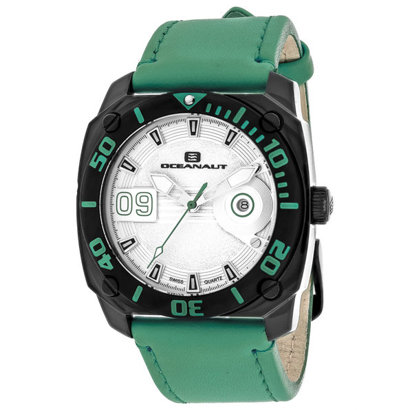 Oceanaut Men's Barletta Silver Dial Watch - OC1343 - Product Image