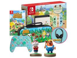 Nintendo NSWANXINGBUN Switch Animal Crossing: New Horizons Paradise Pack