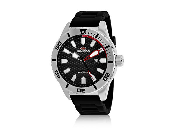 Seapro Men's Brigade Watch Black/Black - Product Image