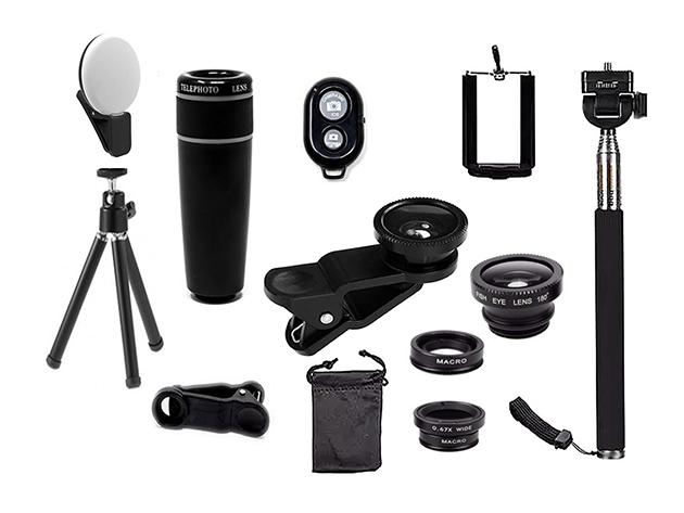 Smartphone camera accessories.