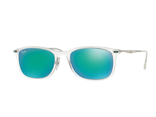 4932aea496 ... Wayfarer Sunglasses (Clear). This New Line of Ray-Bans Will Make You  the Envy of Everyone This Summer