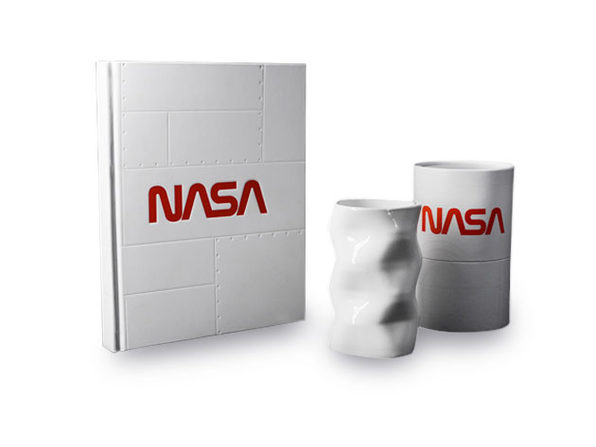 NASA AR Notebook & NASA Space Mug Bundle