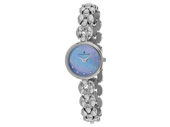 Christian Van Sant Women's Perla Blue mother of pearl Dial Watch - CV0611 - Product Image