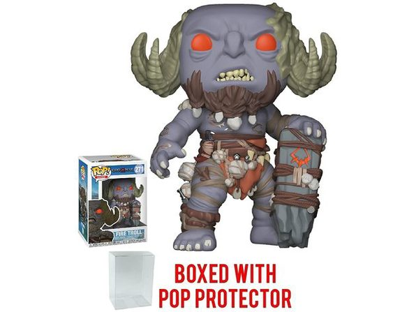 Funko Pop! Games God of War Firetroll Vinyl Collectible Figure Toy