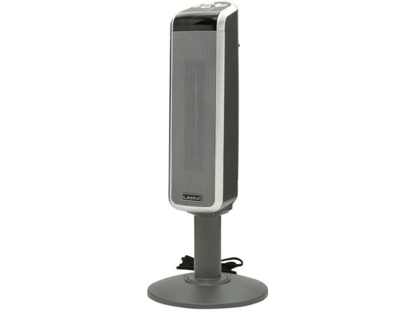 Lasko 5397 Ceramic Plastic/Metal Pedestal Imported Heater with Remote Control (Used, Damaged Retail Box) - Product Image