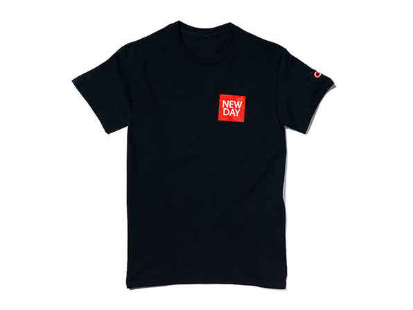 New Day Tee Black  XL