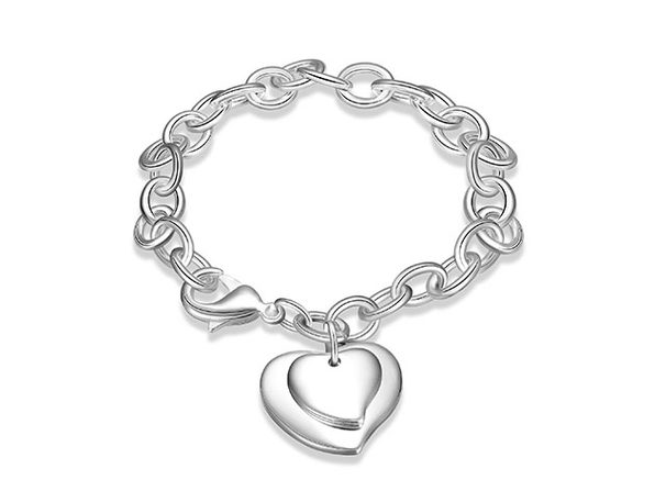 Me & My Mom's Heart Bracelet